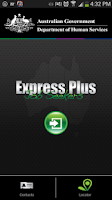 Screenshot of Express Plus Job Seekers