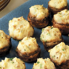 Portobello Mushrooms Stuffed with Parmesan Whipped Potatoes