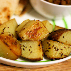 Three Spice Potatoes