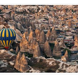 Cappadocia by Dimitar Pavlov - Buildings & Architecture Homes ( cappadocia )