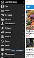 Screenshot of Delfi.lv