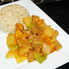 Pineapple Sweet and Sour Seitan