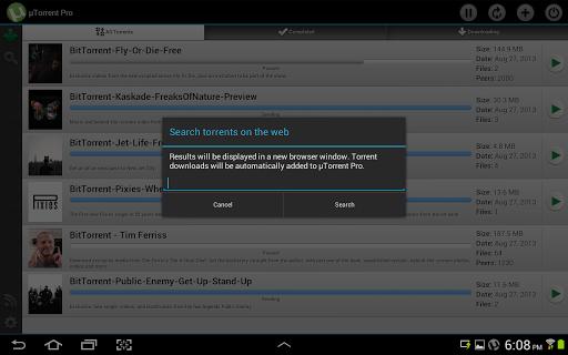 utorrent pro android 2.3
