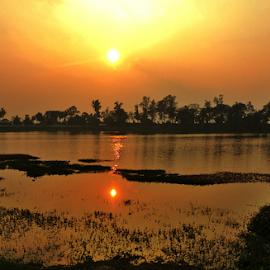 Sunset by Nishant Kumar - Landscapes Sunsets & Sunrises ( sunset,  )