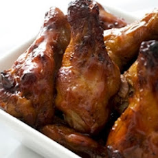 Chicken Wings in Honey BBQ Sauce