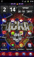 Screenshot of ПФК ЦСКА для GO Launcher EX