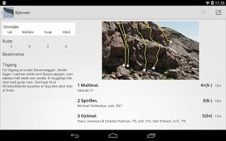 Screenshot of Climbing on Kullaberg