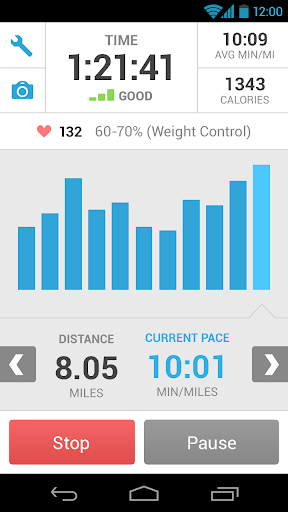 runkeeper-gps-track-run-walk for android screenshot