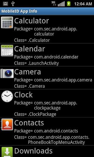 SprintID App info