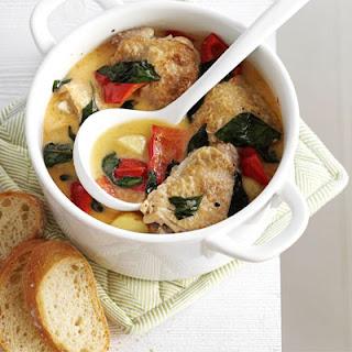 Summer Chicken Basil Stew Recipes