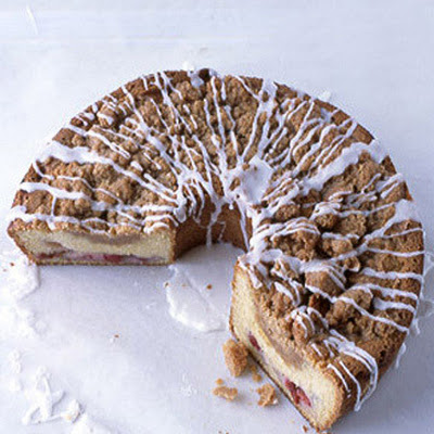 Cherry-Streusel Coffee Cake