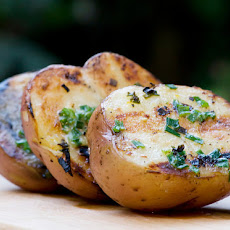 Grilled Chive Potatoes