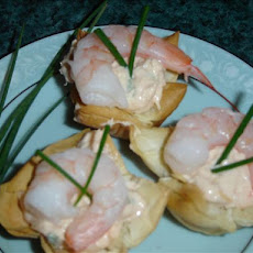 Crab & Shrimp Phyllo Tartlets