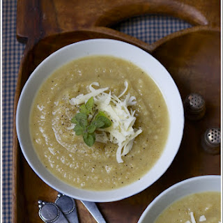 Parsnip, Leek, and Ginger Soup