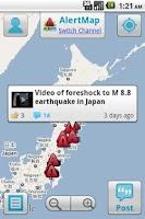 Screenshot of AlertMap