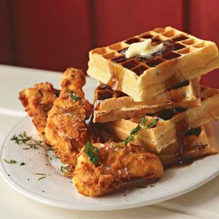 Ad Hoc Fried Chicken and Waffles