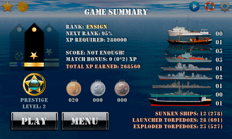 Silent Submarine Career Screenshot 14