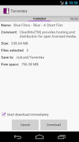 Screenshot of Torrentex - Torrent Downloader