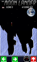 Screenshot of The Moon Lander