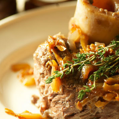 Braised Beef Shanks with Diane Mina