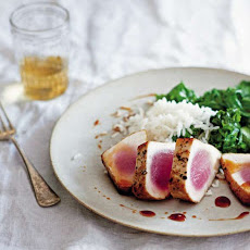 Seared Tuna with Sweet and Sour Sauce Recipe