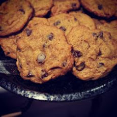 Egg Free Chocolate Chip Pumpkin Cookies