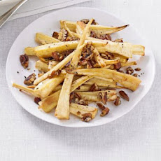 Sticky Maple-glazed Parsnips With Pecans
