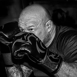 peek a boo by Eddie Leach - Sports & Fitness Boxing