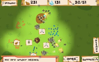 Screenshot of Ant Wars