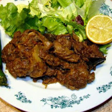 Lamb in Indian Spices and Yoghurt