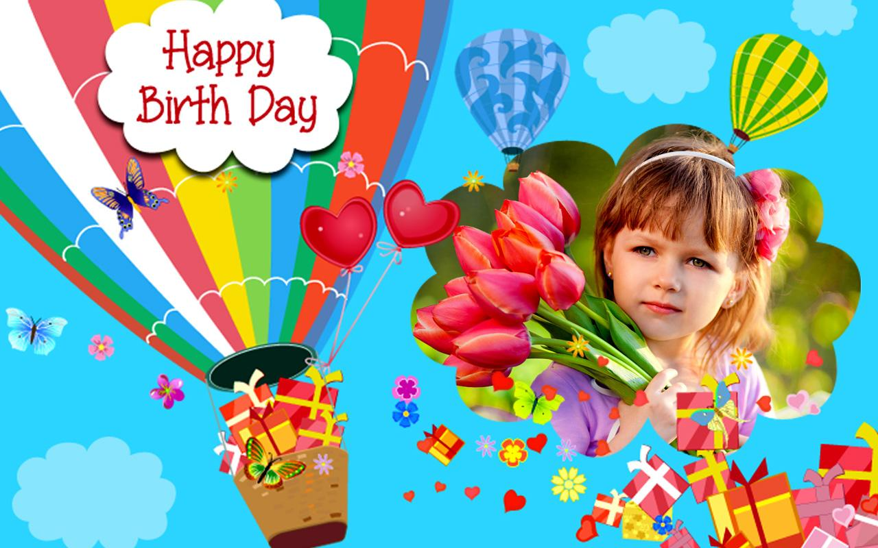 Happy Birthday Frames : Free Birthday Photo Frames - Android Apps on ...