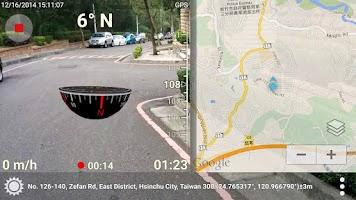 Screenshot of 3D Compass Plus (AR,map,more)