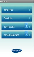 Screenshot of jobs.ac.uk Jobs