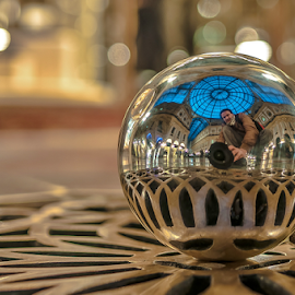 Duomo de Milano. by Jesus Giraldo - Artistic Objects Other Objects ( selfie, ball.man, urban, concept, building, reflection, art, architecture, beauty, conceptphotogrpher,  )