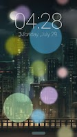 Screenshot of City light GO Locker Theme