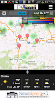 Screenshot of WETM 18 Storm Team