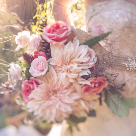 Rustic Bouquet by Alicia Clifford - Wedding Details ( bridal bouquet, flowers )