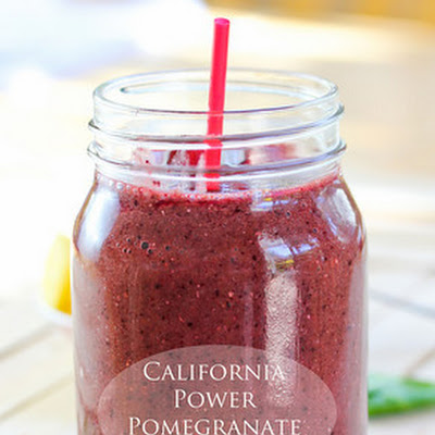 California Power Pomegranate Smoothie