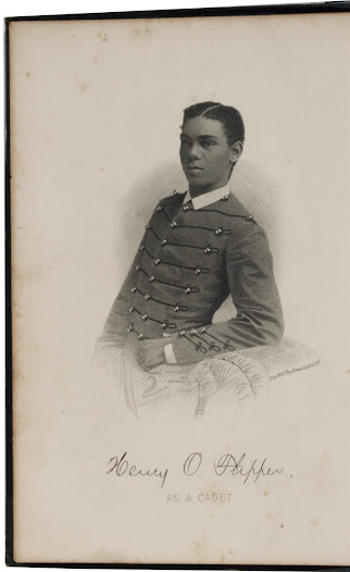Henry Ossian Flipper was the first non-white officer to lead the 10th Cavalry in the western Indian Wars.  Born into slavery in Georgia, Flipper attended Atlanta University during the Reconstruction Era, and later became the first African American cadet to graduate from West Point.