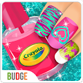 Crayola Nail Party: Nail Salon APK for Bluestacks