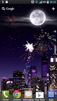 Screenshot of Fireworks Free Live Wallpaper