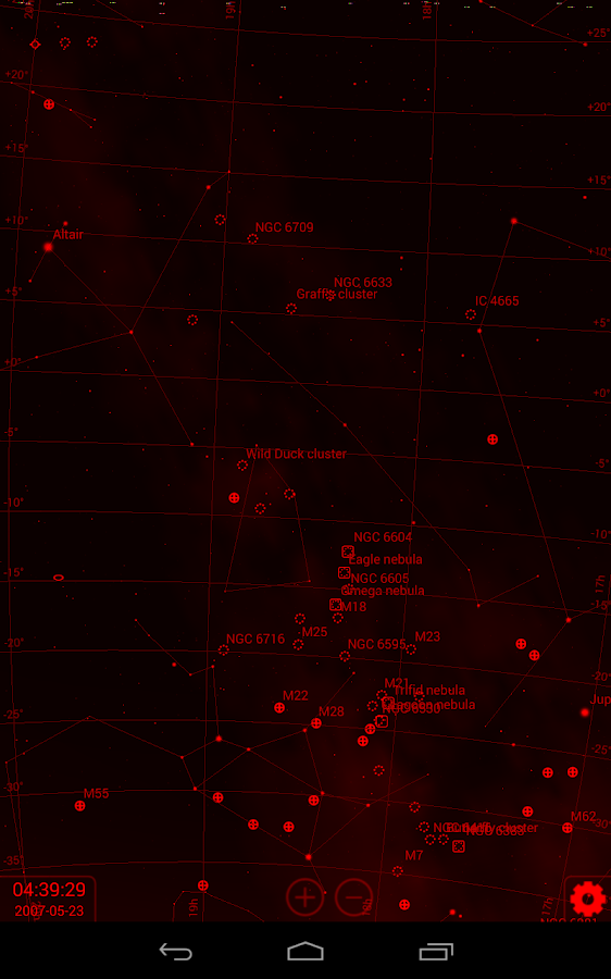Stellarium Mobile Sky Map Screenshot 13
