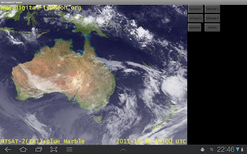 Meteo Sat Viewer - free - screenshot