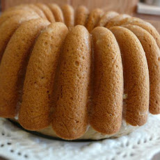 Ginger Cake Iced in Lemon