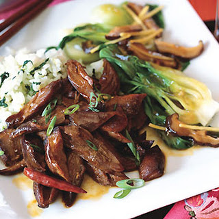 Twice-Cooked Five-Spice Lamb with Red Chiles