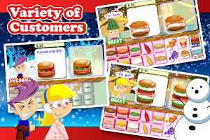 Screenshot of Yummy Burger Christmas Free