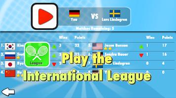 Screenshot of Smash Tennis 3D