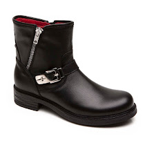 Cesare Paciotti Buckle Leather Boot BOOTS
