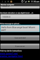 Screenshot of Marine navigator - Fish finder