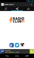 Screenshot of Radio Club 91